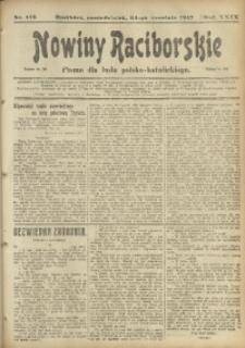 Nowiny Raciborskie, 1917, R. 29, nr 113