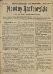 Nowiny Raciborskie, 1917, R. 29, nr 134