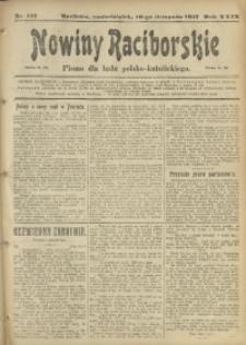 Nowiny Raciborskie, 1917, R. 29, nr 137