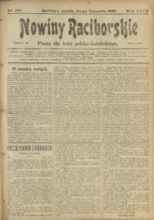 Nowiny Raciborskie, 1917, R. 29, nr 138