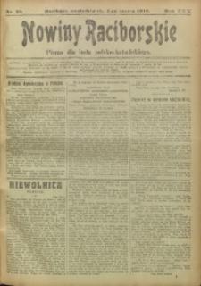 Nowiny Raciborskie, 1918, R. 30, nr 28