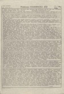 Wiadomości Solidarności, 1981, nr159