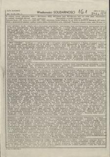 Wiadomości Solidarności, 1981, nr161
