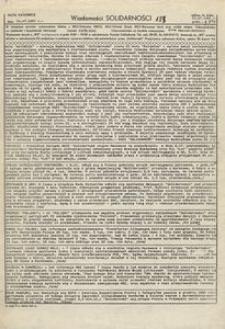 Wiadomości Solidarności, 1981, nr183