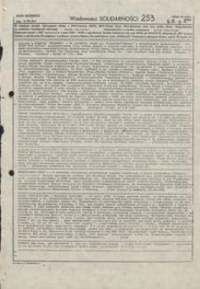 Wiadomości Solidarności, 1981, nr253