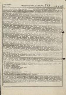Wiadomości Solidarności, 1981, nr275