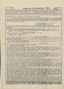 Wiadomości Solidarności, 1981, nr301