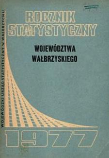 Rocznik Statystyczny Województwa Wałbrzyskiego, 1977, R.1