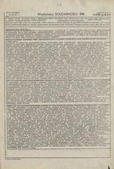 Wiadomości Solidarności, 1981, nr374