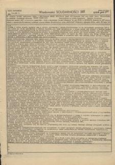 Wiadomości Solidarności, 1981, nr388