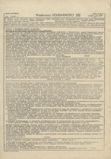 Wiadomości Solidarności, 1981, nr396