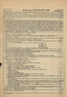 Wiadomości Solidarności, 1981, nr408