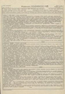 Wiadomości Solidarności, 1981, nr422