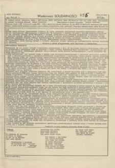 Wiadomości Solidarności, 1981, nr456