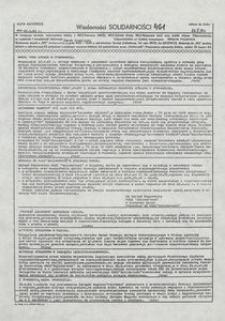 Wiadomości Solidarności, 1981, nr461