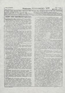 Wiadomości Solidarności, 1981, nr479