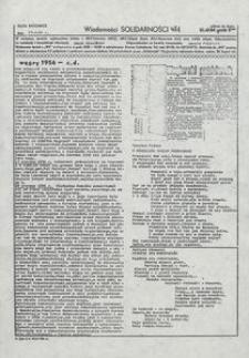 Wiadomości Solidarności, 1981, nr481