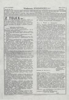 Wiadomości Solidarności, 1981, nr505
