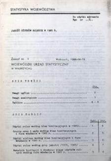 Jakość użytków rolnych w 1985 r.