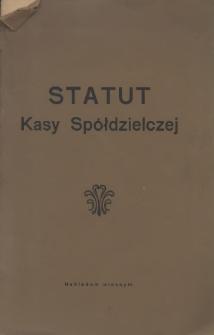 Statut Kasy Spółdzielczej