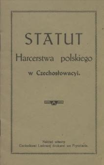 Statut Harcerstwa Polskiego w Czechosłowacyi