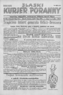 Śląski Kurjer Poranny, 1936, R. 2, nr 193
