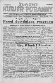 Śląski Kurjer Poranny, 1936, R. 2, nr 199