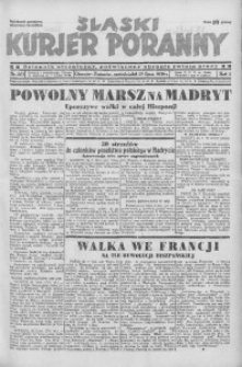 Śląski Kurjer Poranny, 1936, R. 2, nr 203