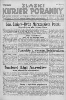 Śląski Kurjer Poranny, 1936, R. 2, nr 288