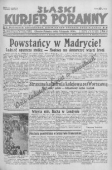 Śląski Kurjer Poranny, 1936, R. 2, nr 305
