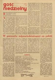 Gość Niedzielny, 1972, R. 41, nr 10