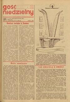 Gość Niedzielny, 1972, R. 41, nr 37