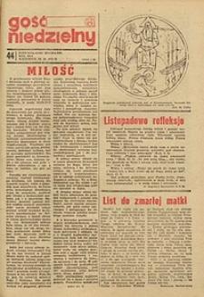 Gość Niedzielny, 1972, R. 45, nr 44
