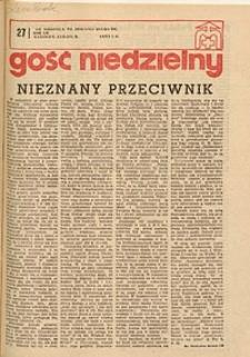 Gość Niedzielny, 1975, R. 48, nr 27