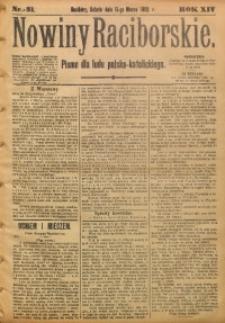 Nowiny Raciborskie, 1902, R. 14, nr 31