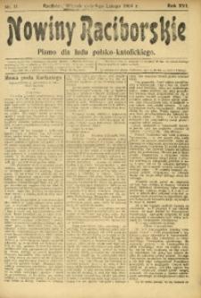 Nowiny Raciborskie, 1904, R. 16, nr 17