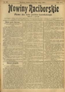 Nowiny Raciborskie, 1904, R. 16, nr 60