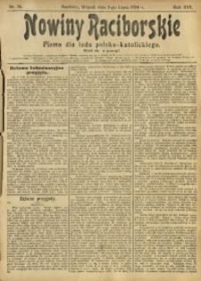 Nowiny Raciborskie, 1904, R. 16, nr 78