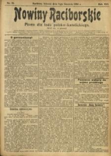 Nowiny Raciborskie, 1904, R. 16, nr 93