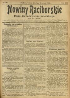 Nowiny Raciborskie, 1904, R. 16, nr 104