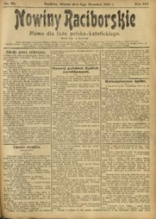 Nowiny Raciborskie, 1904, R. 16, nr 105