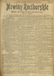 Nowiny Raciborskie, 1904, R. 16, nr 106