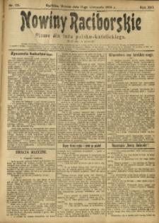 Nowiny Raciborskie, 1904, R. 16, nr 135