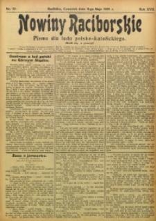 Nowiny Raciborskie, 1905, R. 17, nr 55
