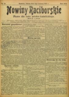 Nowiny Raciborskie, 1905, R. 17, nr 65
