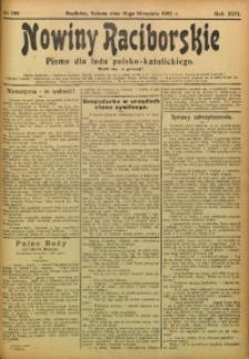 Nowiny Raciborskie, 1905, R. 17, nr 109