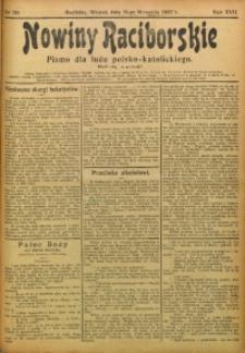 Nowiny Raciborskie, 1905, R. 17, nr 110