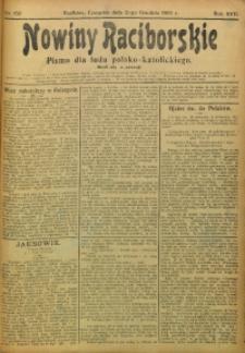 Nowiny Raciborskie, 1905, R. 17, nr 150