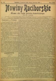 Nowiny Raciborskie, 1905, R. 17, nr 152