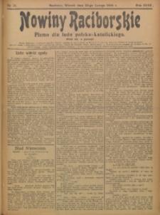 Nowiny Raciborskie, 1906, R. 18, nr 21